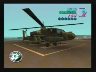 The Hunter Helicopter (Apache Chopper) - Grand Theft Auto